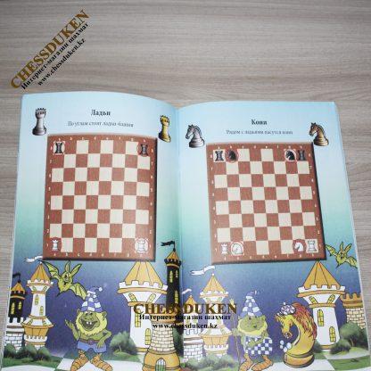Карвин в шахматном лесу Алматы